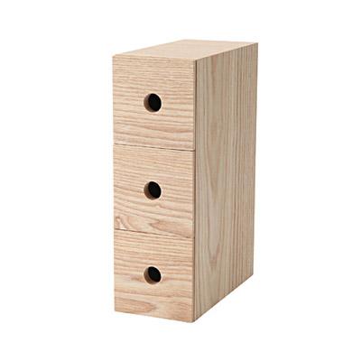 MDF Storage Box 3 Drawers ...