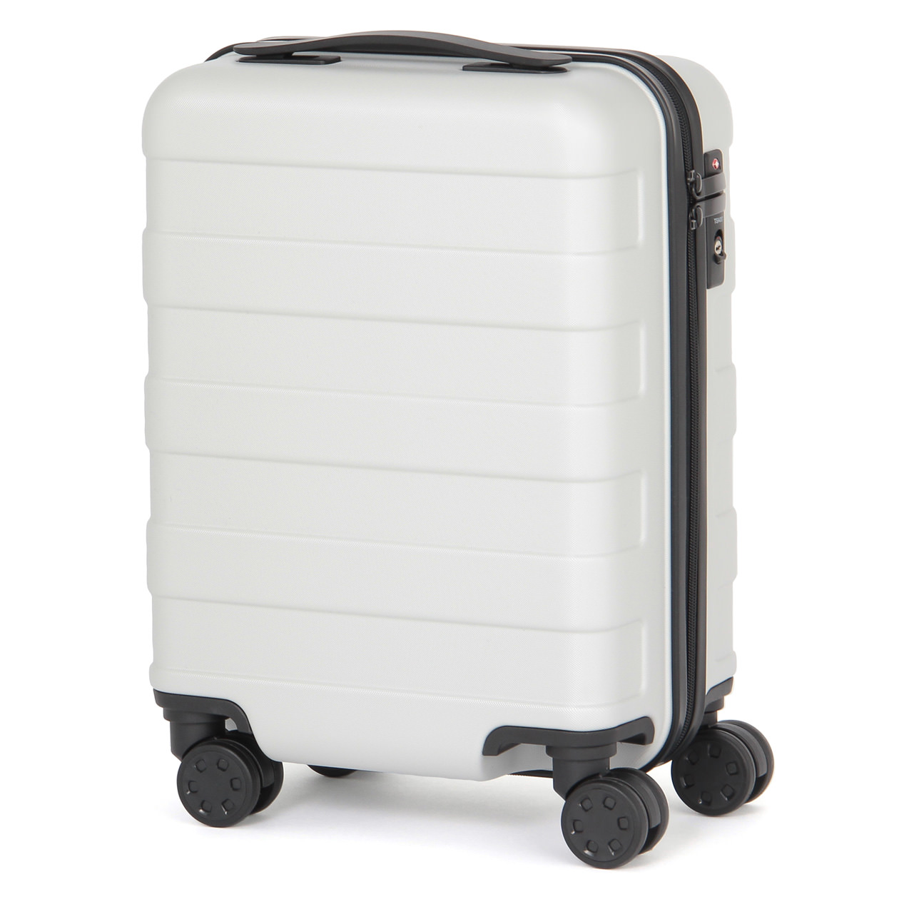 bc2ee0601 Polycarbonate Hard Carry Suitcase with Stopper | MUJI