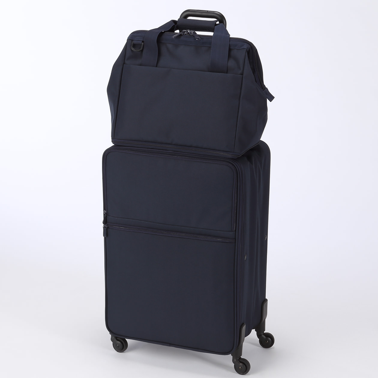 Polycarbonate hard carry suitcase with stopper muji for Valise muji prix