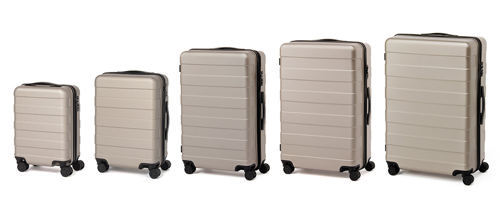 cd30e8f2cbdb Polycarbonate Hard Carry Suitcase with Stopper   MUJI