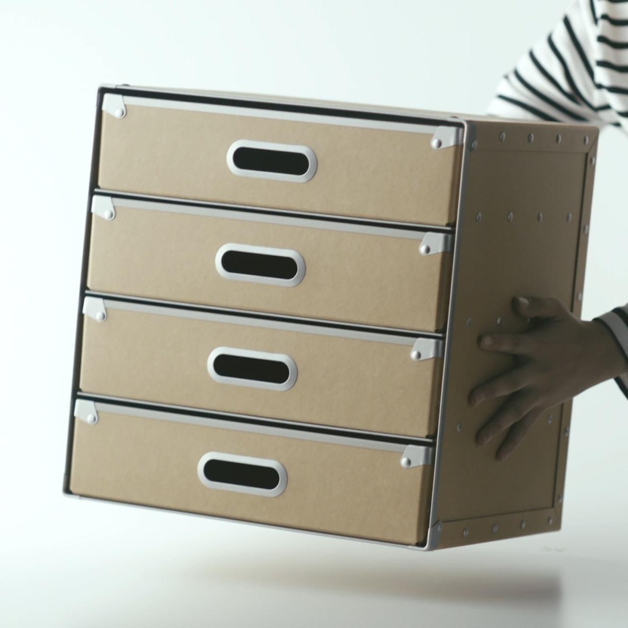 Boite a outils avec tiroirs maison design for Petit meuble avec tiroir