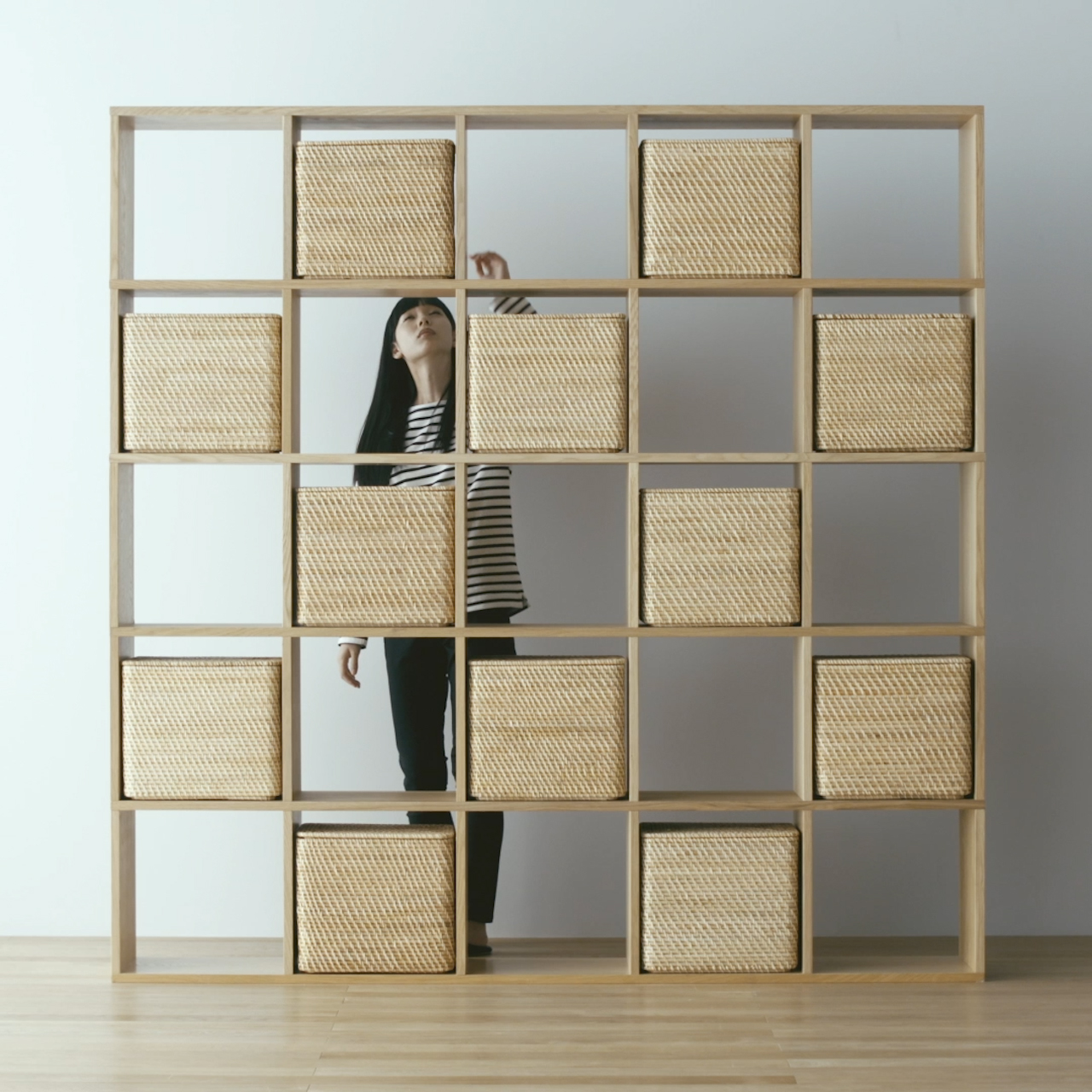 Pair With Drawers And Storage Boxes