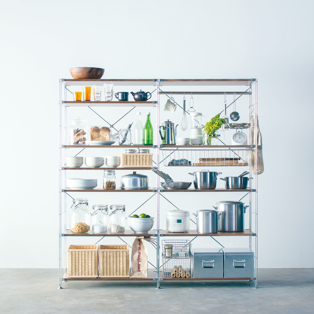Use In The Kitchen   Unit Shelf | Compact Life | MUJI
