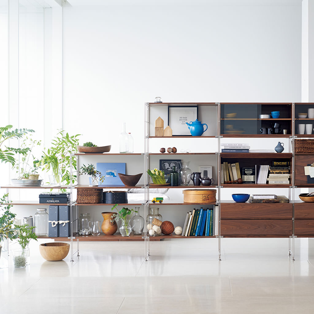 Living Room Shelf Use In The Living Room Use In The Bedroom Unit Shelf Compact