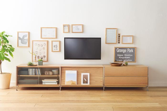 Store items down low - Unit Shelf | Compact Life | MUJI