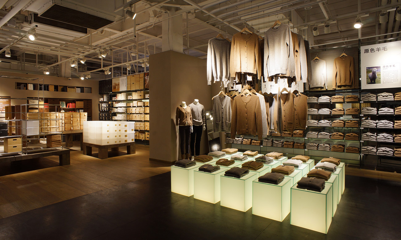Muji sino ocean taikoo li chengdu muji for Shop by style home decor