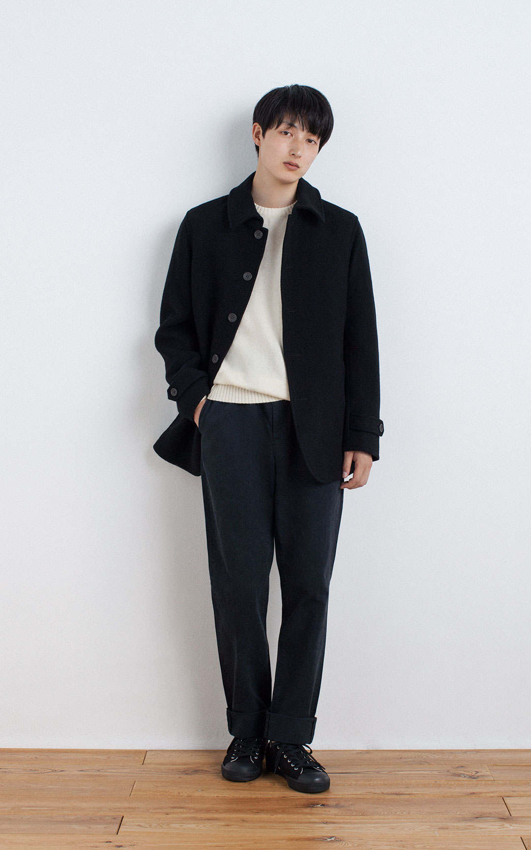 2016 Autumn and Winter Coordinate Catalog | Men | MUJI