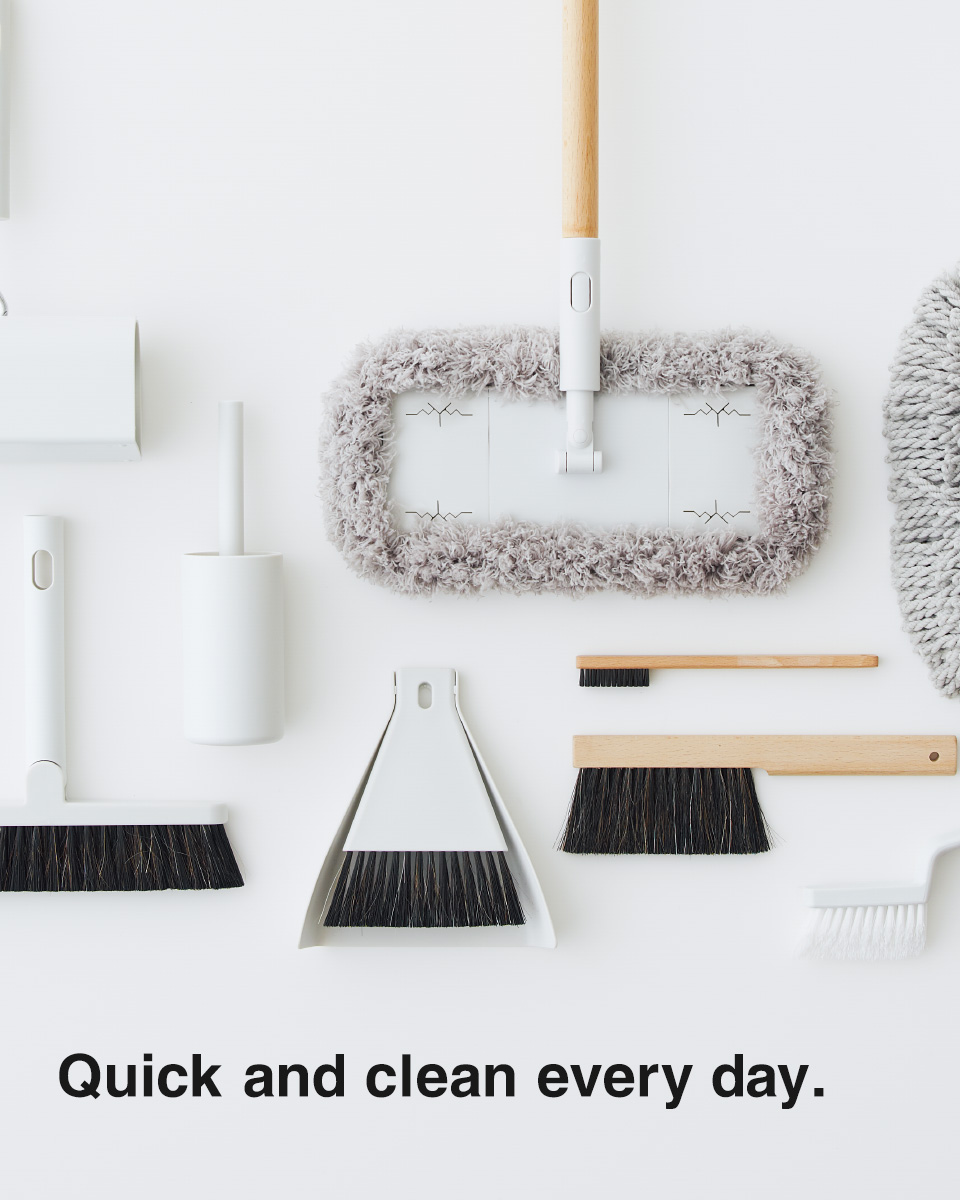 Quick and clean every day.