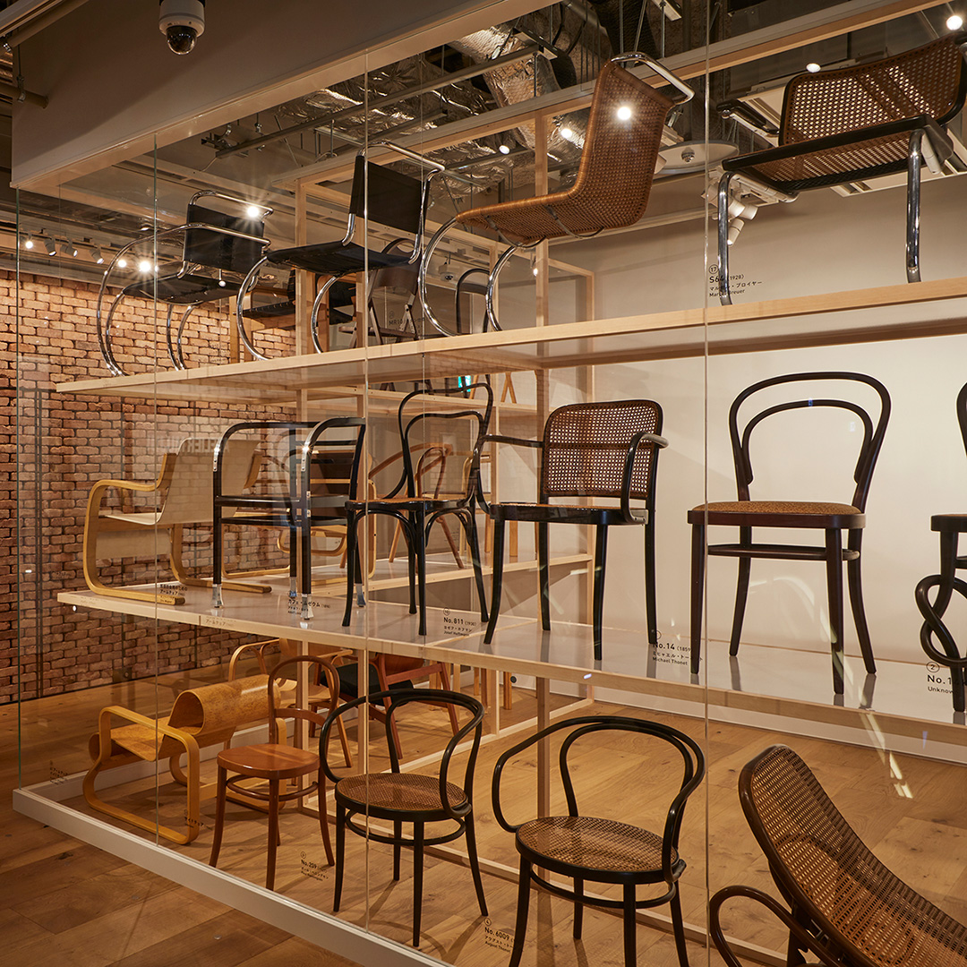 Exhibition: Surviving long into the future---50 chairs passing down their DNA ―From the collection of Keiji Nagai―