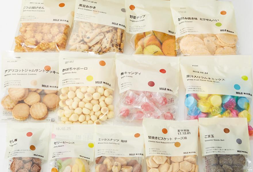 「無印良品 キャンディポットペンセット ¥525」