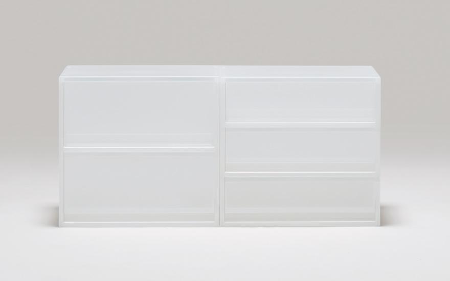 小物や書類の収納に適したサイズの収納ケースです。高さは「深型」「浅型」「薄型」の3種類、幅・奥行は通常サイズと「ハーフ」「横ワイド」サイズからお選  ...