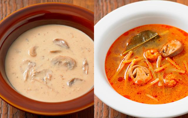 素材を生かしたスープ