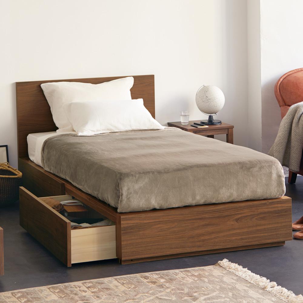 無印 良品 ベッド 木製ベッド 通販 無印良品