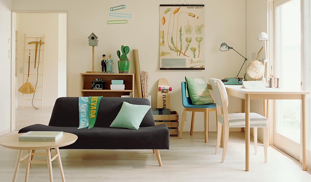 無印良品・IKEA・ニトリのソファーのインテリアコーディネート比較集