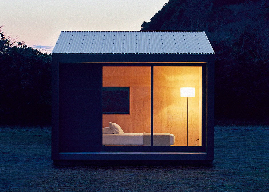 Muji hut for Micromaisons minimaliste