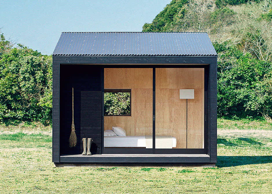 Muji hut for Small hut plans