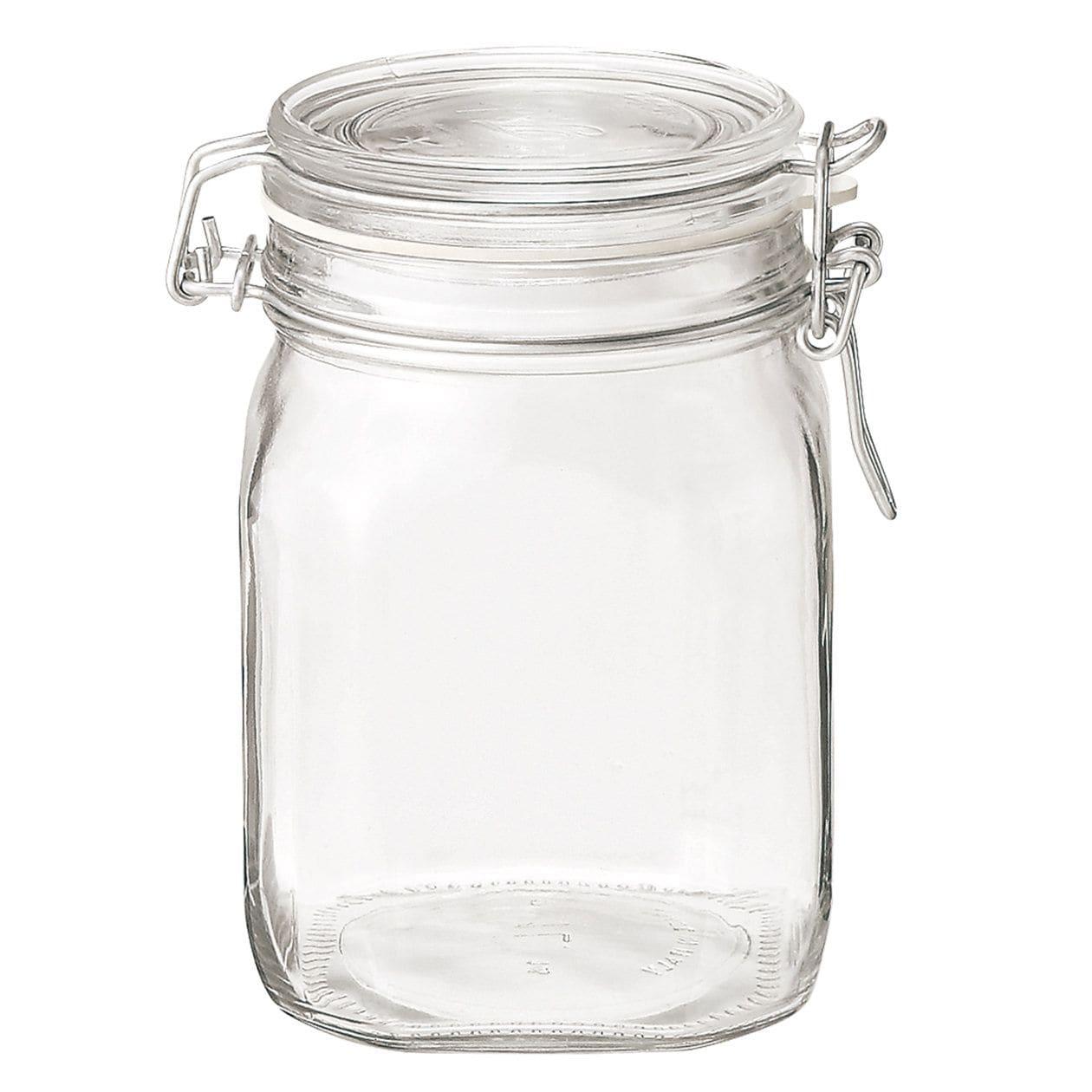 ソーダガラス密封ビン 約1000ml