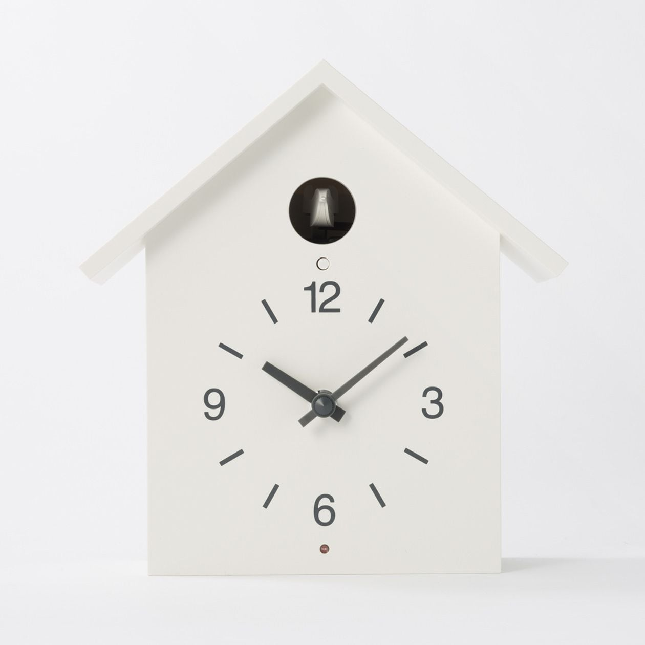 鳩時計・大 掛置時計・ホワイト 通販 | 無印良品