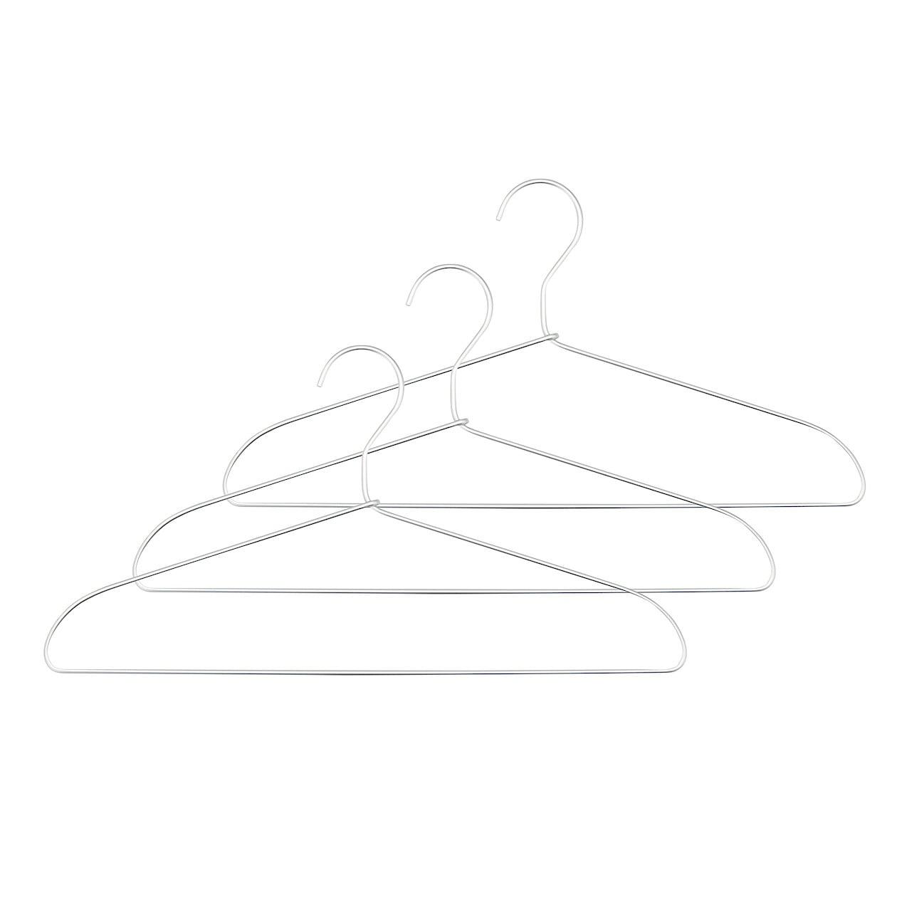 アルミ洗濯用ハンガー・3本組 約幅41cm