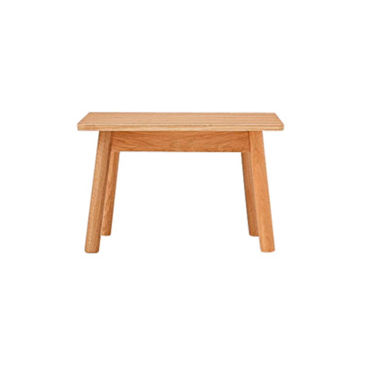 オーク材ラウンジテーブル3