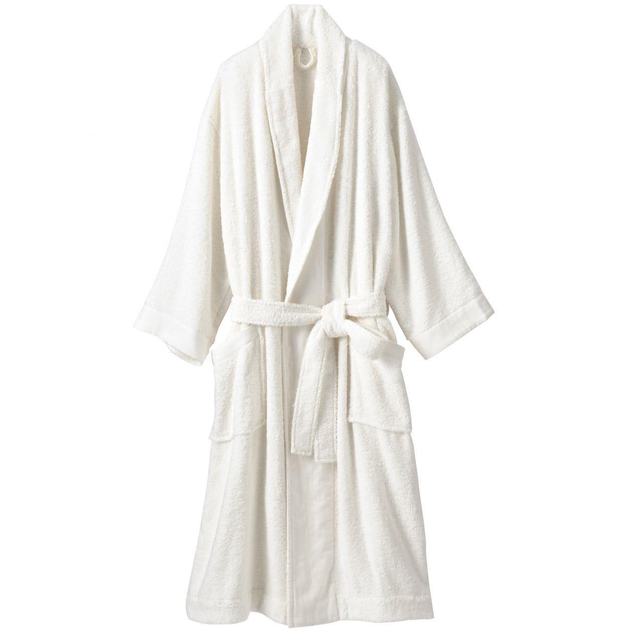 無印良品 ガーゼ使いしなやかタオルのバスローブ