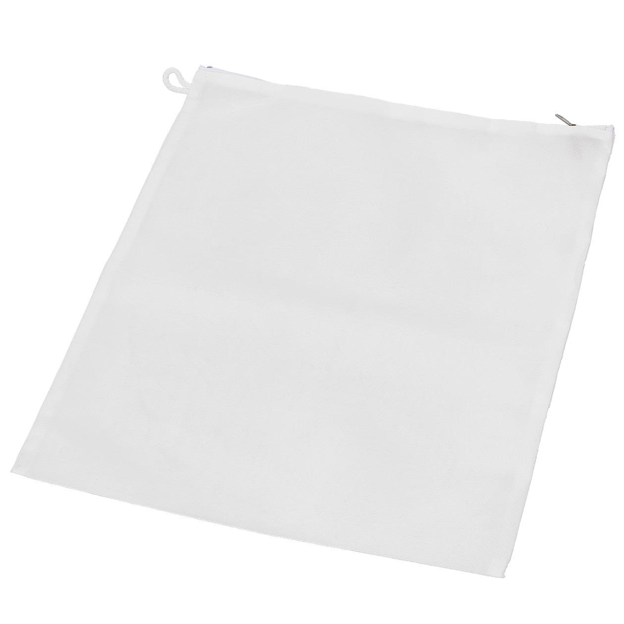 無印 両面使える洗濯ネット・平型 約縦40×横35cm