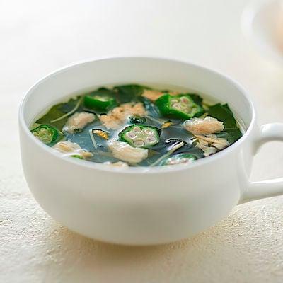 食べるスープ オクラ入りねばねば野菜のスープ 4食