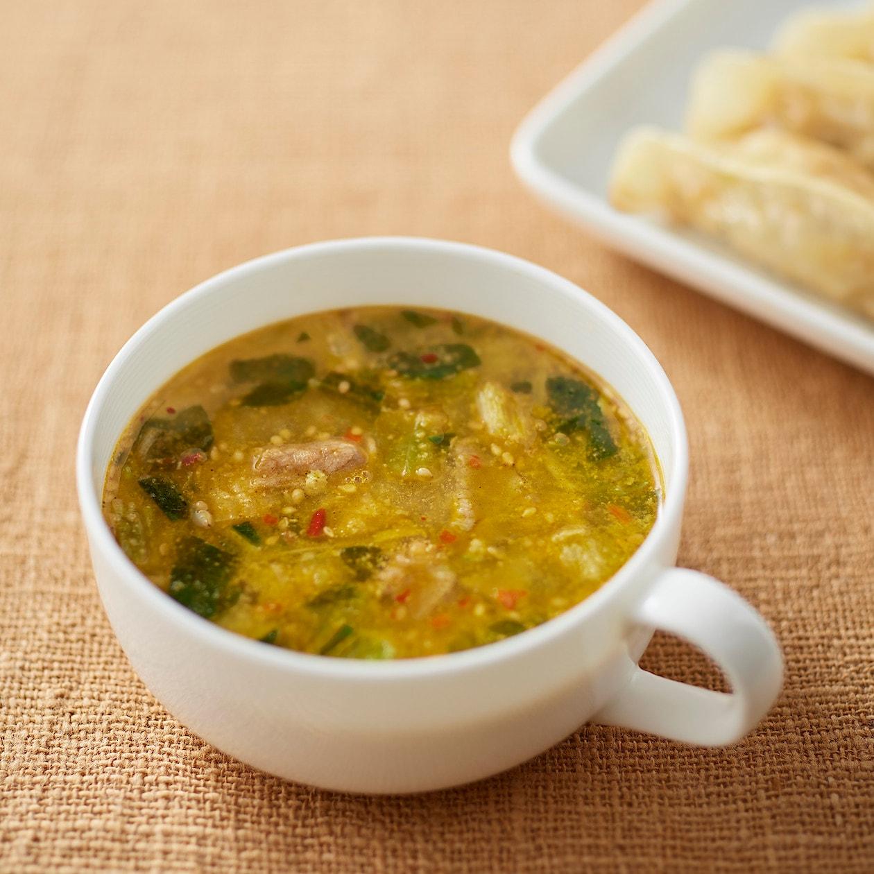 チンゲン 菜 スープ