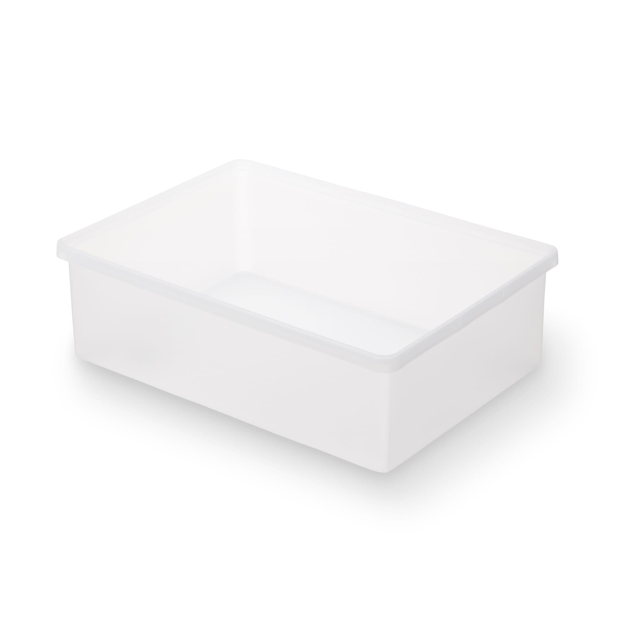 [무인양품] MUJI 폴리프로필렌 수납박스・와이드・중 일본공식스토어 상품