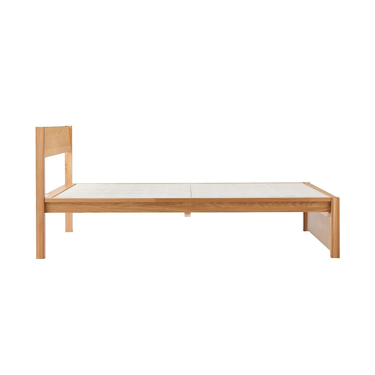 無印良品 木製ベッド・オーク材・セミダブル