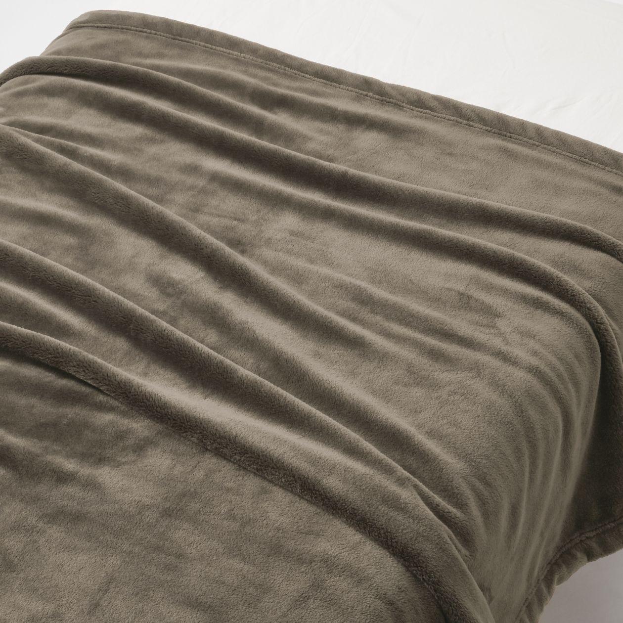あたたか ファイバー 厚手 毛布