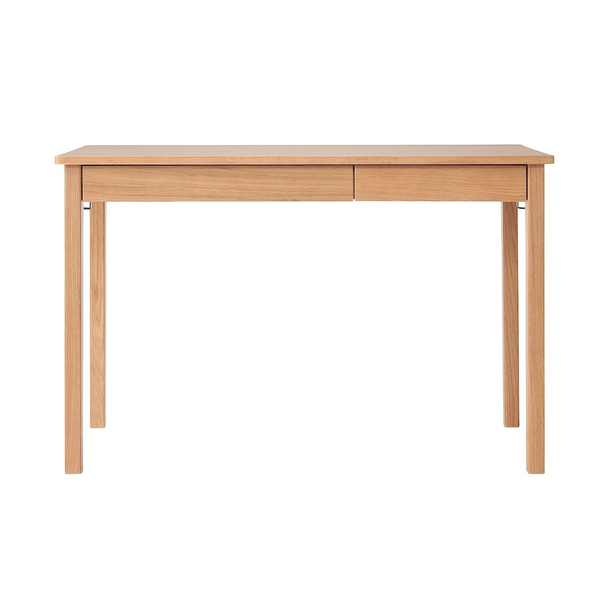 木製デスク・オーク材 幅110×奥行55×高さ70cm
