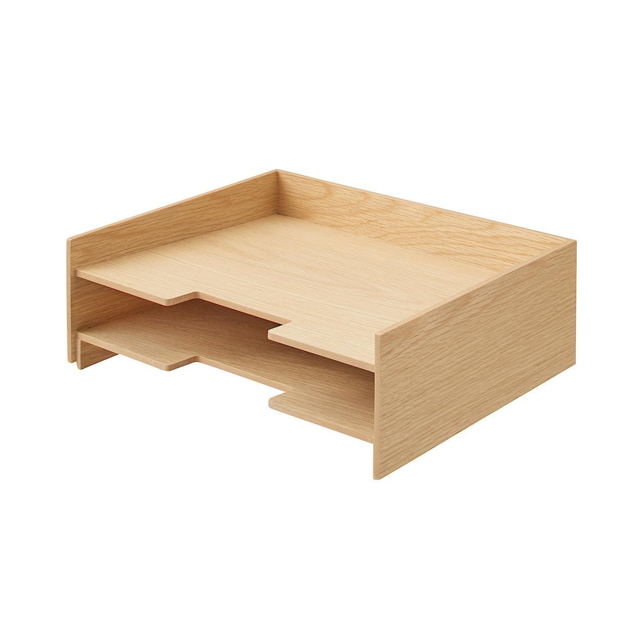 木製書類整理トレー