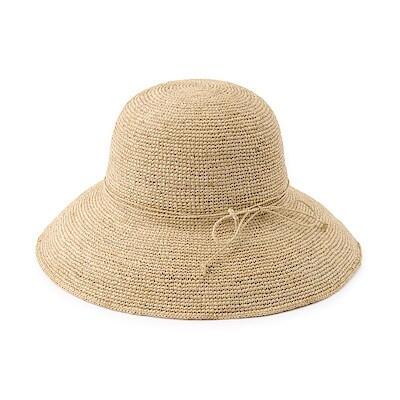 Raffia Hat With Brim