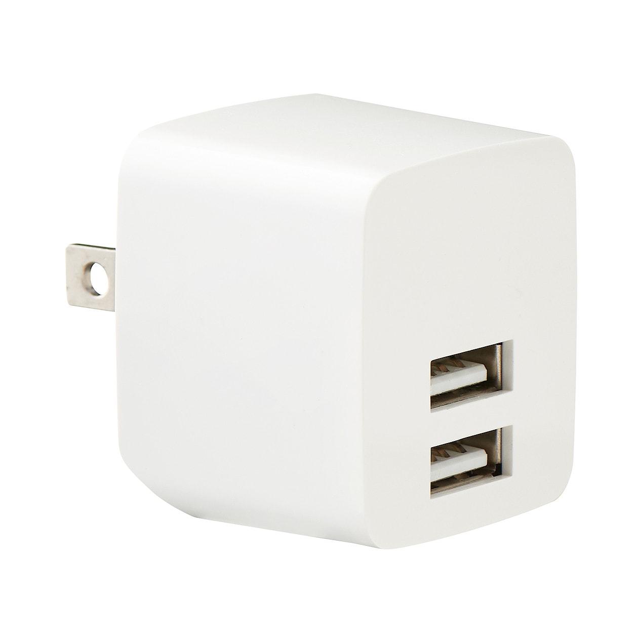 USB用プラグがしまえる急速充電器 MJ-PA1 通販 | 無印良品