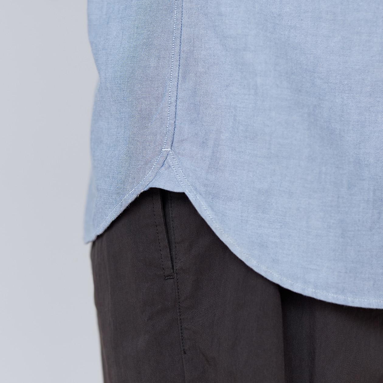 記事内画像:003【商品担当者が語る無印良品】オックスフォードのシャツ ②
