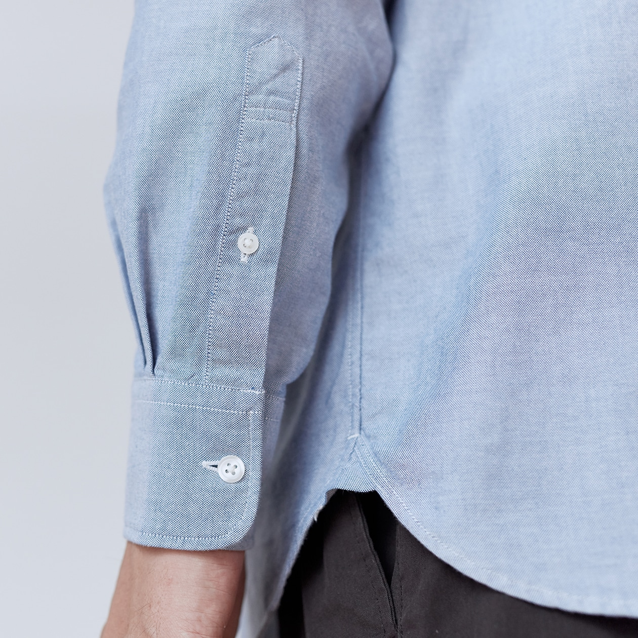 記事内画像:004【商品担当者が語る無印良品】オックスフォードのシャツ ②