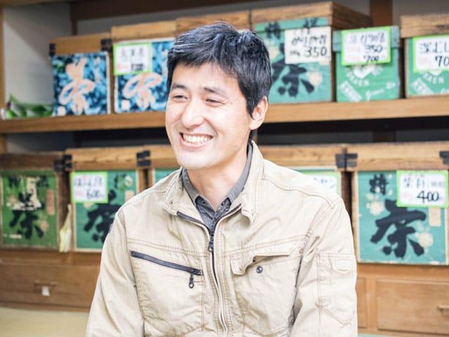 供給者画像:生産者名 高香園 野場義尊さん