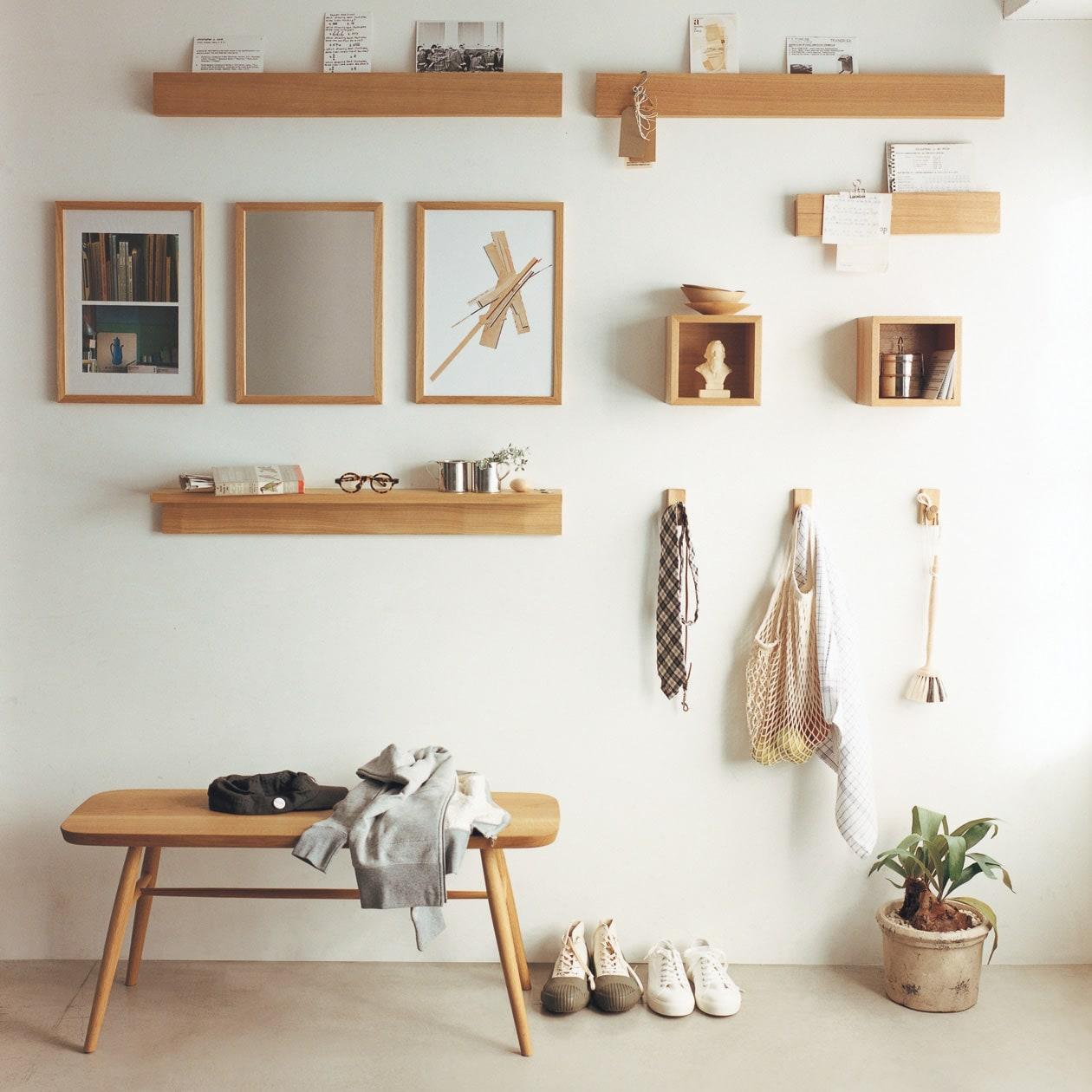 キービジュアル画像:壁に付けられる家具