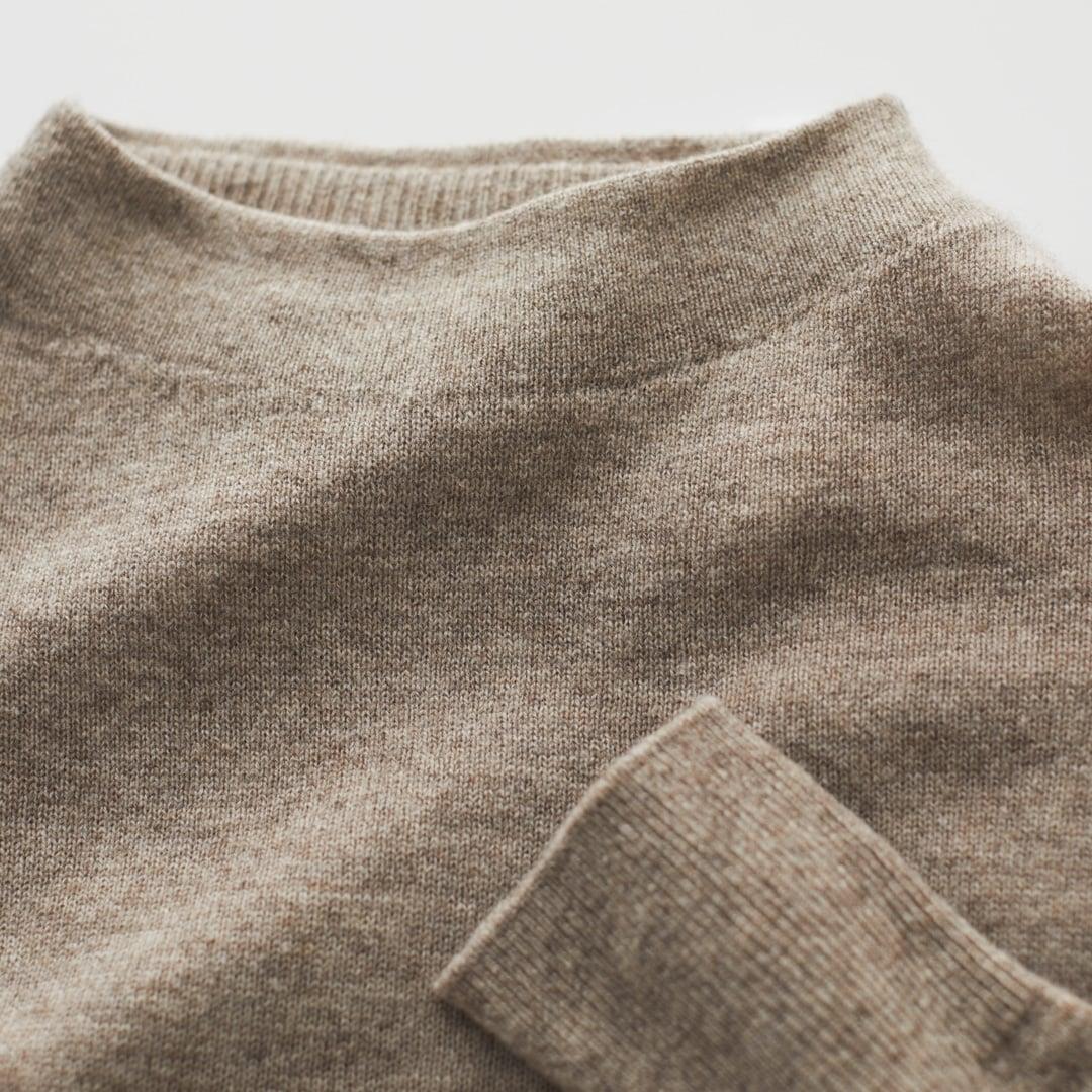 モック ネック セーター 無印