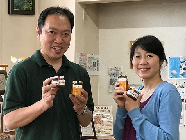 供給者画像:生産者名 有限会社早野商店 早野 崇・早野 由紀子さん