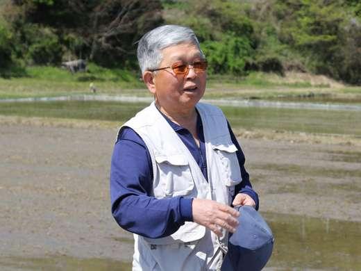 供給者画像:生産者名 JAたじま蛇紋岩米生産部会 太田部会長