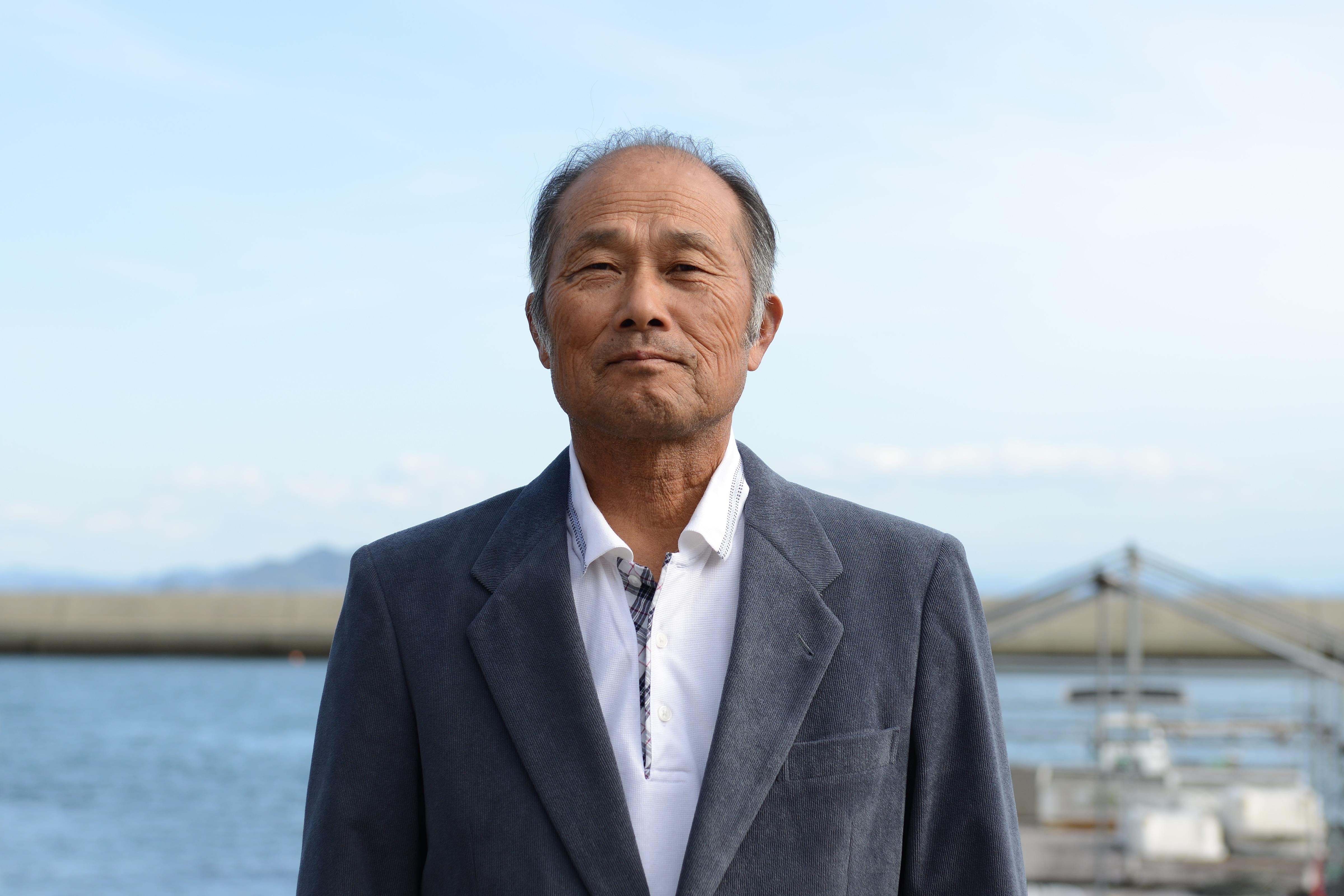 供給者画像:生産者名 マルコ水産有限会社 代表取締役 兼田敏信さん