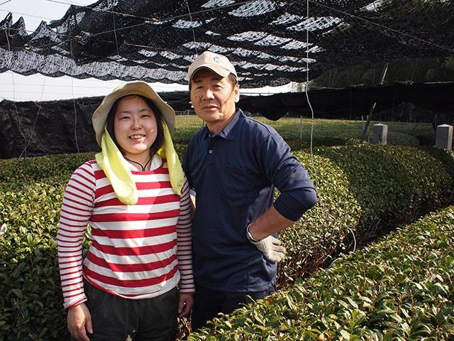 供給者画像:生産者名 お茶の上香園 5代目園主 岡田文利さん