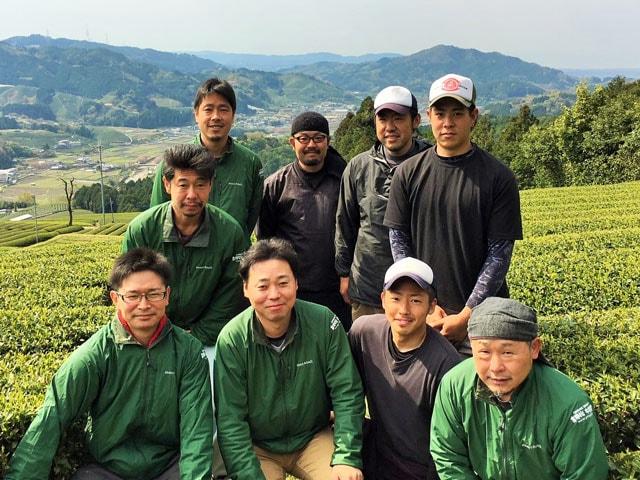 供給者画像:生産者名 中井製茶場 七代目茶師 中井敏太さん