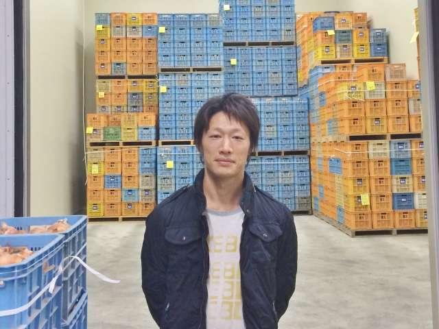供給者画像:生産者名 株式会社善太 清水健次さん