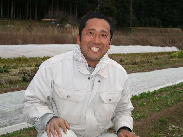供給者画像:生産者名 おかもファーム 岡本高憲さん