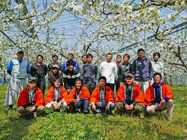 供給者画像:生産者名 JAてんどう 果樹部会 果樹青年部