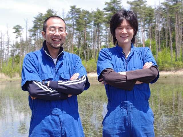 供給者画像:生産者名 安藤賢相さん(写真右)、近藤大樹さん(同左)