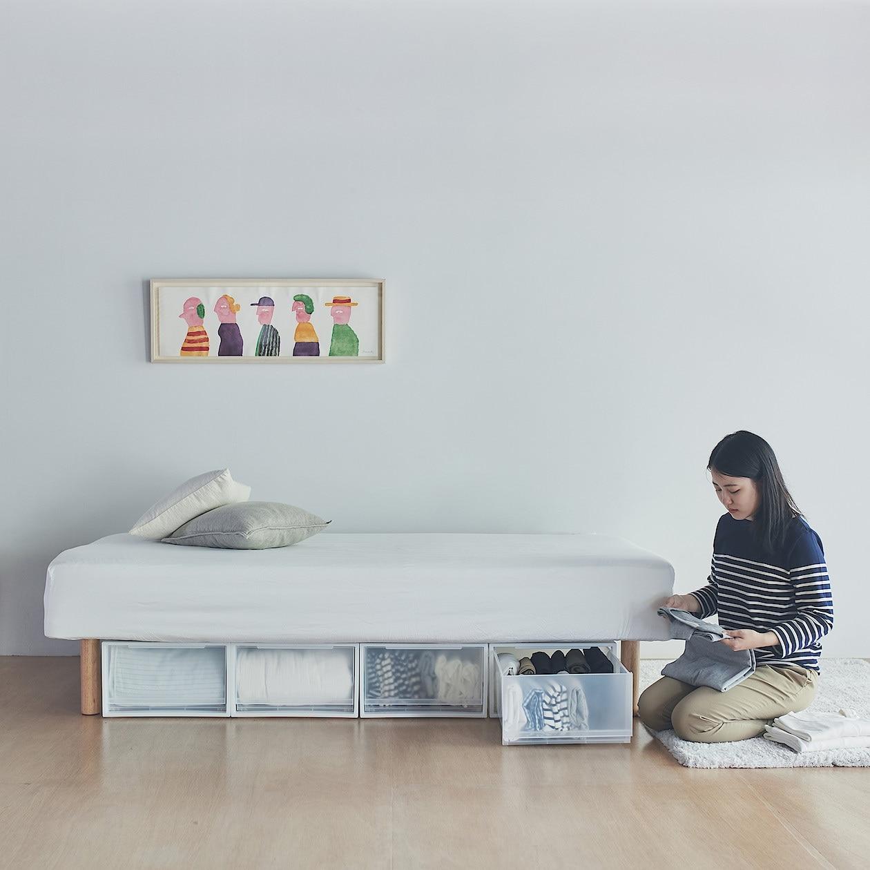 ベッド 無印 無印良品「ベッド」の選び方と種類とは?おしゃれインテリア実例4選